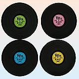 Out of the Blue, Tischset in Form von Vinyl, Polypropylen, sortiert Farben, 4 Stück