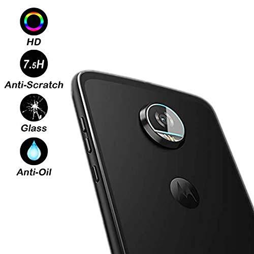 Displayschutzfolie für Moto G6 Play Back Kamera Objektiv - [2 Stück] Ultra High Clear gehärtetes Glas Rückseite Kamera Linse Displayschutzfolie für Motolora Moto G6 Play 2018