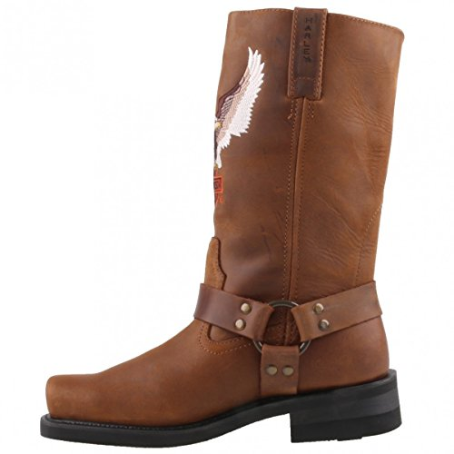 HARLEY DAVIDSON - DARREN - brown Marrone (Marrone)