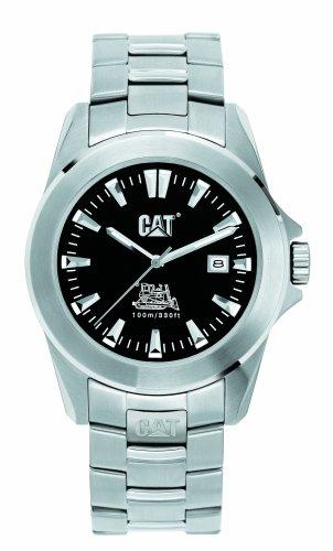Caterpillar BIG TWIST XL CA1020 - Reloj de caballero de cuarzo, correa de acero inoxidable color plata