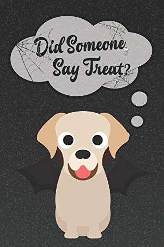d Notebook: A Halloween Themed Notebook For Golden Lab Lovers (Dog Halloween Notebooks and Journals, Band 47) ()
