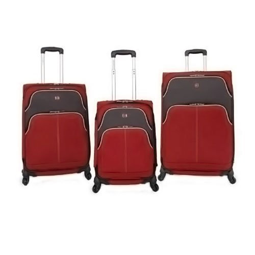 Swiss Gear Luggage Set, bordeaux/gris (Mehrfarbig) - 2045830