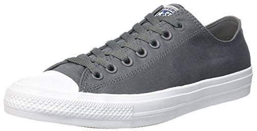 Converse Ct Ii Ox, Chaussures Homme Gris (Thunder/white/navy)