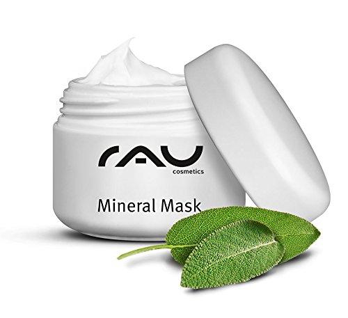 Gesichtsmaske mit Zink und Rügener Heilkreide - RAU Mineral Mask 5 ml - bei unreiner Haut und Mitessern (B-geschenk-set Bella)