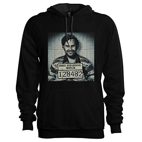 King of Shirts Pablo Escobar Hoody Kapuzenpullover X-Large Schwarz