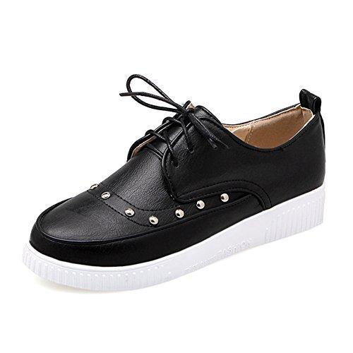 Tour de tête avec des chaussures de dentelle profonde/rivet chaussures basses/Chaussures de l'étudiant B
