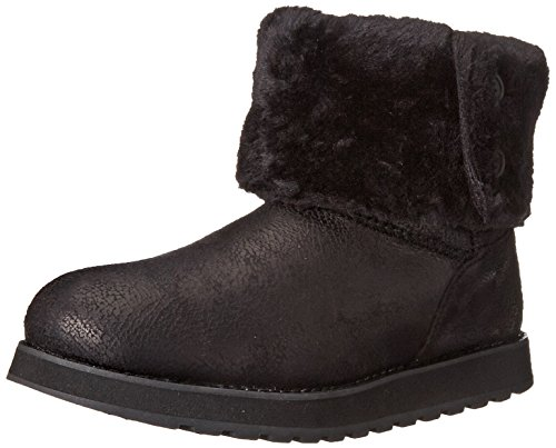 Skechers Keepsakes Leather-esque, Bottes femme Noir