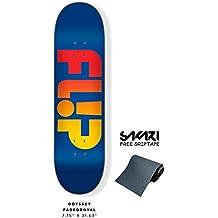 Monopatín skate skateboard FLIP TEAM ODYSSEY FADED 31,63 X 7,75