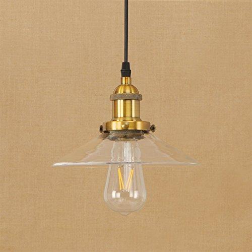 Ruxmy lampadari stile country in stile industriale retrò, adatti a soffitti decorativi in stile rurale