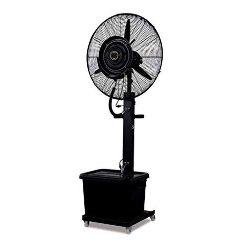 Ventilatori a piantana Rotazione del ventaglio ruotabile di 90 Gradi Aggiunta di Acqua nebulizzata Regolazione Raffreddamento di Fabbrica 3 Ingranaggio Continuo di Ingranaggi 10 Ore (Colore: Frassino