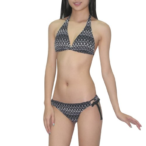 2pcs-set-old-navy-women-sexy-top-bottom-dri-fit-surf-swimsuit-small-black