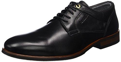 Pantofola d'OroMincio Uomo Low - Pantofole Uomo , nero (nero (nero)), 43