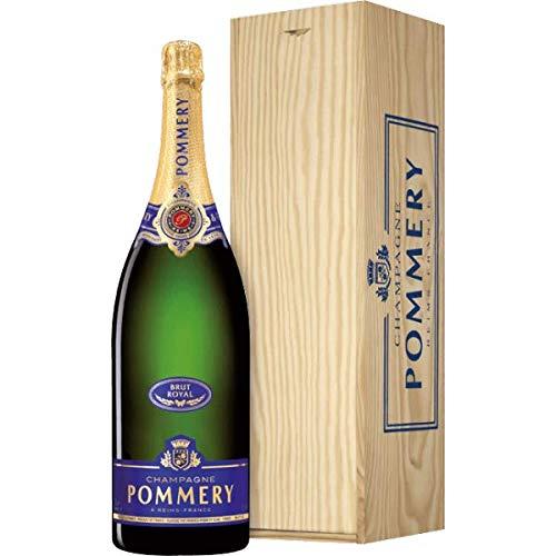 Champagne Brut Royal Pommery Jeroboam in Cassetta Legno - Il Piacere di Regalare Champagne - Cod....