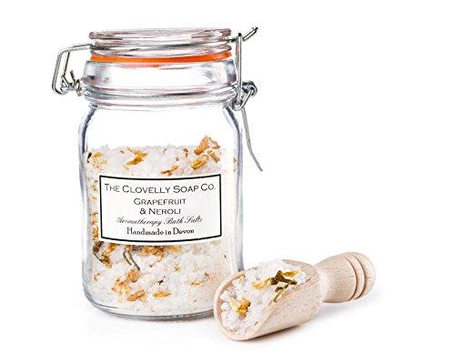 Clovelly Soap | Sales baño Toronja Aceite flores