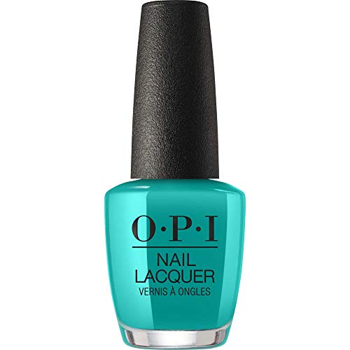 OPI OPI Nail Lacquer Nagellack, langanhaltender und splitterfester Farblack, NEONs by OPI Collection, 15 ml, NLN74 - Dance Party 'Teal Dawn