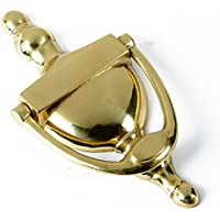 A & Y Traders Heavy Brass Door Knocker 8 Inches Victoria