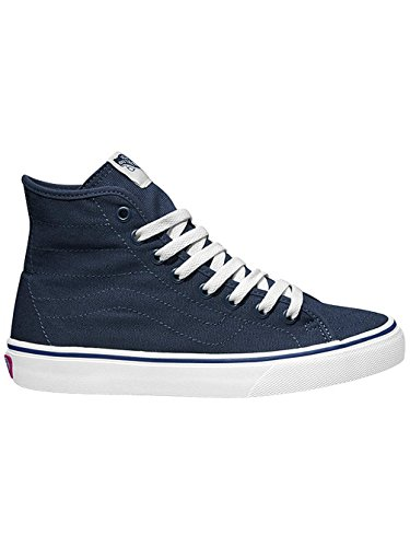 Vans U SK8-HI Unisex-Erwachsene Hohe Sneakers Bleu - (canvas) dress blues/true