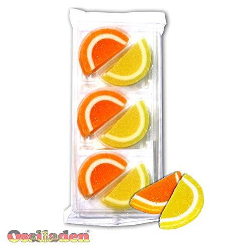 Orangen & Zitronen Gelee Scheiben (Argenta) mit Ostalgie-Karte Alles Gute