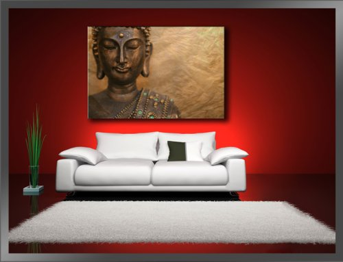 lieferadresse deutschland amazon schweiz bilder auf leinwand buddha 120 x 80 cm modell nr. Black Bedroom Furniture Sets. Home Design Ideas