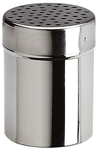 Space Home - Dispensador de Queso - Espolvoreador de Especias - Acero Inoxidable - Ø 7 cm