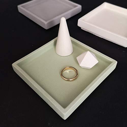 Beton Grün Quadratische Platte