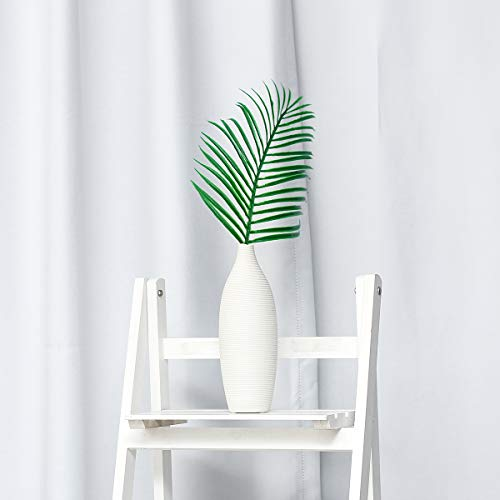 ChaRLes Künstliche Palme Faux Blätter Grüne Pflanzen Grün Für Blumen Dekorationen