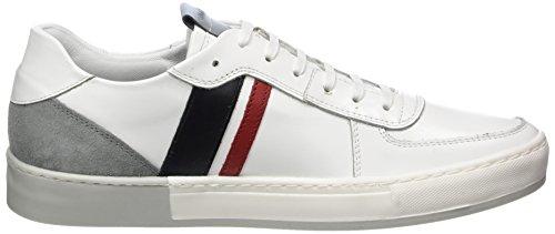 Strellson Herren Copperbox Evans Sneaker Lfu1 Weiß (White)