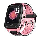 Kids Smart Watch GPS, Waterproof Smartwatch GPS Tracker GSM SIM Touch Screen Support