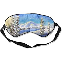 Winter Snow Tree Sleep Eyes Masks - Comfortable Sleeping Mask Eye Cover For Travelling Night Noon Nap Mediation... preisvergleich bei billige-tabletten.eu