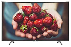 TCL 121.92 cm (48 inches) Full HD Curved Smart LED TV C48P1FS (Black)
