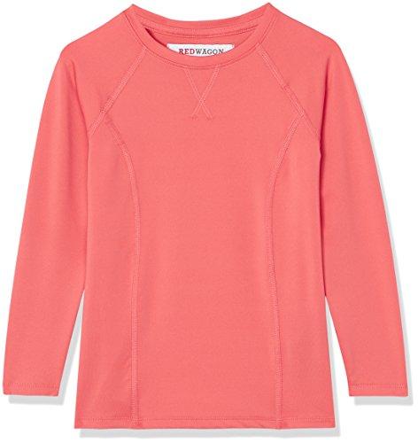 RED WAGON Mädchen Sport Sweatshirt mit verstärkten Nähten, Rot (Mandarine), 134 (Herstellergröße: 9 Jahre) (Rote Pullover Mädchen)