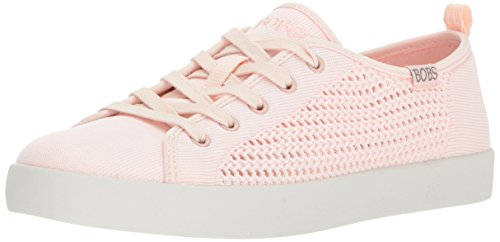 Skechers Damen Bobs B-Loved - Spring Blossom Sneaker, Light Pink, 39 EU - Bob Skechers Frauen Sneaker