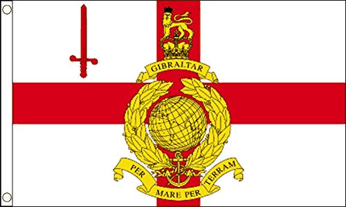 Gizzy ® Royal Marines Reserve City Of London 5'x 3'Flagge (Party City Marina)
