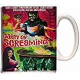 Mug Carry On Screaming Poster 01 Ceramic Cup Box Gift