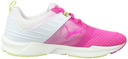 Puma Ignite Xt V2 Wns, Scarpe da Corsa Donna Rosa (Pink (Pink Glo-puma White-Sharp Green 02))