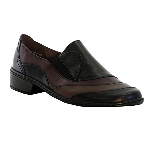 JENNY ARA Jenny Ara Womens Shoe 64244-22 Black Multi 6 Leather