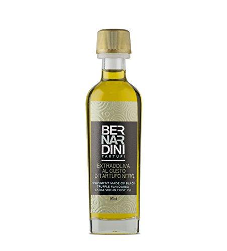 Olio extravergine di oliva al tartufo nero, bottiglia 50ml - bernardini tartufi