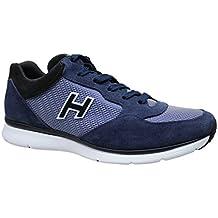 Scarpe uomo Hogan Original blu camoscio sneaker HXM00N0Q102R2Y9999 bb9011320d0