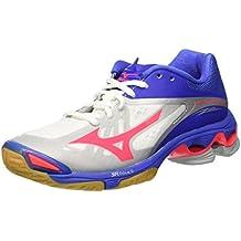 1bce3e22a5fe2 Zapatos Mujer Mizuno Wave Lightning Z2 blanco rosa azul