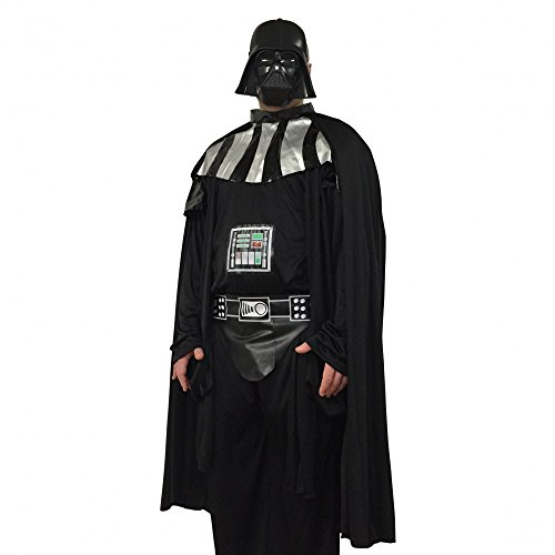 shoperama Star Wars Herren Kostüm - Darth Vader Herrenkostüm Starwars , Größe:L (Cape Vader Darth)