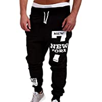 Pantalones de chándal para Hombre,Pantalones de Moda Pantalones de Hombre Pantalones Casuales Cordón