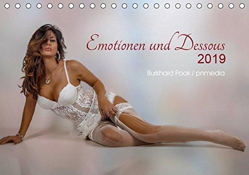 Emotionen und Dessous (Tischkalender 2019 DIN A5 quer): Junge Frauen in sexy Dessous (Monatskalender, 14 Seiten ) (CALVENDO Menschen)