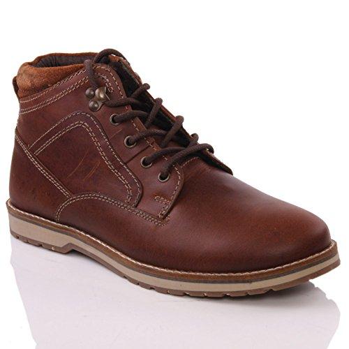 Oz Para Homens Reelan 'botas De Montar Smart-winter-atado-up - M19200 Bronzeamento