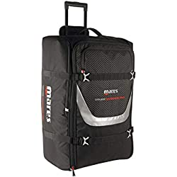 Mares Cruise Backpack Pro 128 LT Trolley Bag Adulte Unisexe, Noir, Une Une Taille