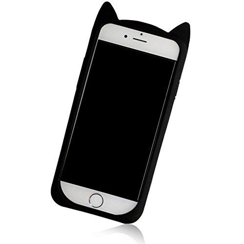 Case iPhone 6 Plus,iPhone 6S Plus Cover,Diamante Bling Glitter Lusso Cristallo Strass Morbida Rubber Full body [Rotazione Grip Ring Kickstand] con Supporto Dellanello Shock-Absorption Bumper e Anti-S Moustache 2
