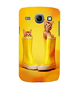 printtech Kitten Cat Boots Back Case Cover for Samsung Galaxy Core i8262::Samsung Galaxy Core i8260