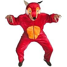 Fuchs-Kostüm, F21 Gr. M-XL, Fasnachts-Kostüme Tier-Kostüme, Fuchs-Kostüme Füchse Kostüme Fuchs-Faschingskostüm, Fasching Karneval, Faschings-Kostüme, Geburtstags-Geschenk Erwachsene