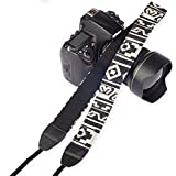 SYGA 1 Piece White Coloured DSLR Camera Shoulder Strap
