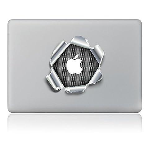 """MacBook Aufkleber, Chickwin Creative Pattern dekorativ Film Notebook Sticker Skin personalisierte Aufkleber MacBook Pro Air 13"""" Decal (zerbrochenes Papier)"""
