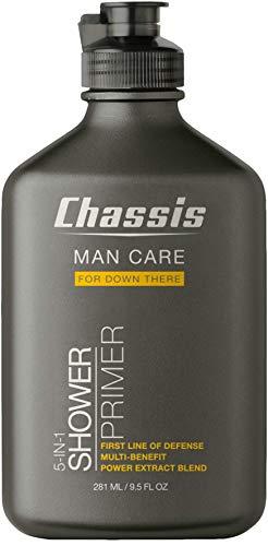 Chassis Duschprimer 5-in-1 Intimpflege - Intim Wasch-Gel und Tiefenreinigung für Männer - pH-Hautneutral Dermatologisch Getestet